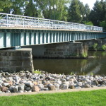 Downtown Battle Creek - Old Train Bridge