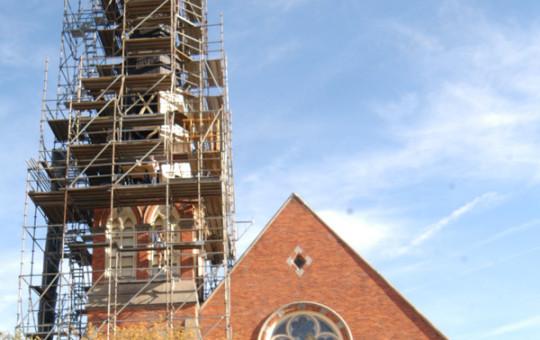 St. Thomas Church construction