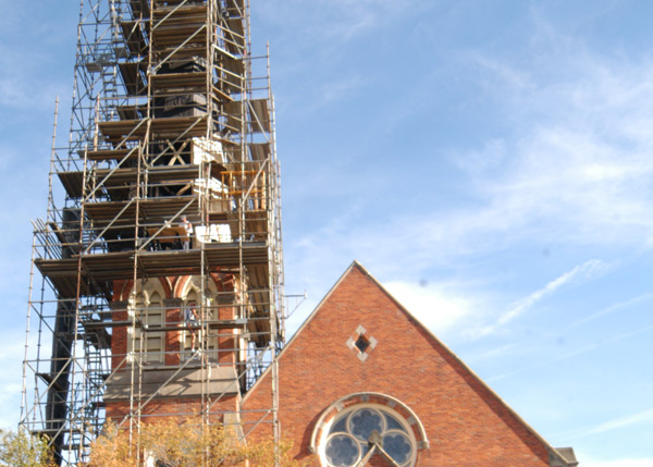 St. Thomas Church construction