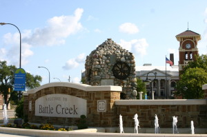 City of Battle Creek Fountain