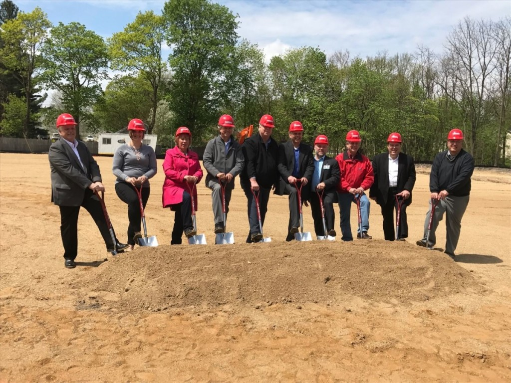 Goodwill groundbreaking in Marshall