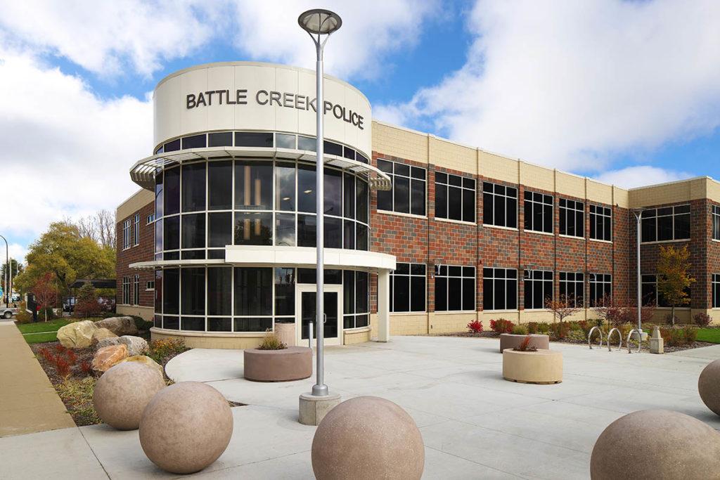 BCPD Exterior Entrance