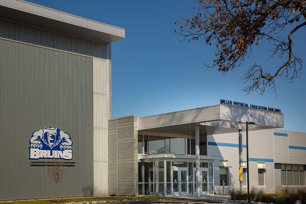 KCC Miller Physical Education Exterior Entrance